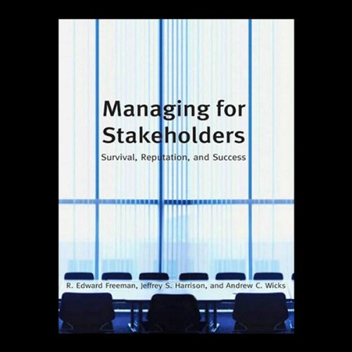 Managing Stakeholders cover art