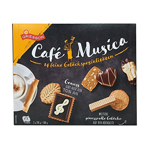 1X 500G GRIESSON CAFE MUSICA