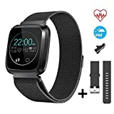 CatShin Montre Intelligente Tracker d'activité CS08 Multisport Mode Fitness Tracker...