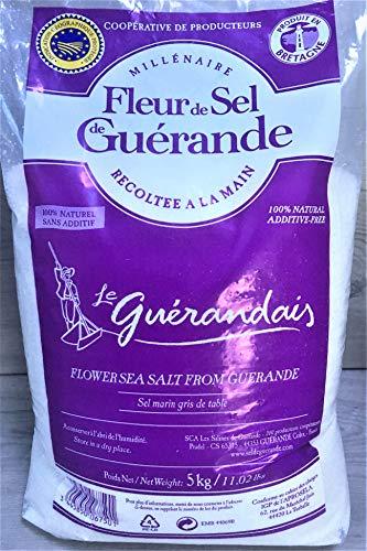 5 Kg Fleur de Sel de Guerande Le Guerandais
