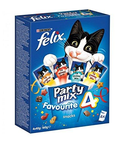 Felix - Felix Snacks para gatos Felix Party Mix - 160 g
