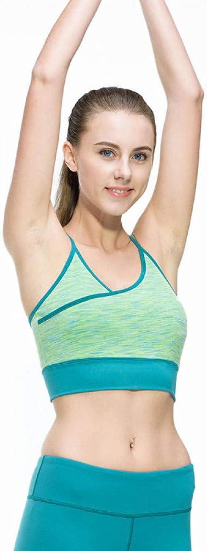 AIYUNDONG Frauen Fitness Sexy Yoga Laufen Sport Gym Sportlich Top BH Atmungsaktiv Gepolsterte Stretch Push Up Unterwsche Sport BH