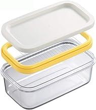 XIAOYING Fromage Coupe Couteau Boîte de Rangement Boîte Slicer Couteau Case Gadget Pâte Grater Slicing Fromage Set de Cuis...