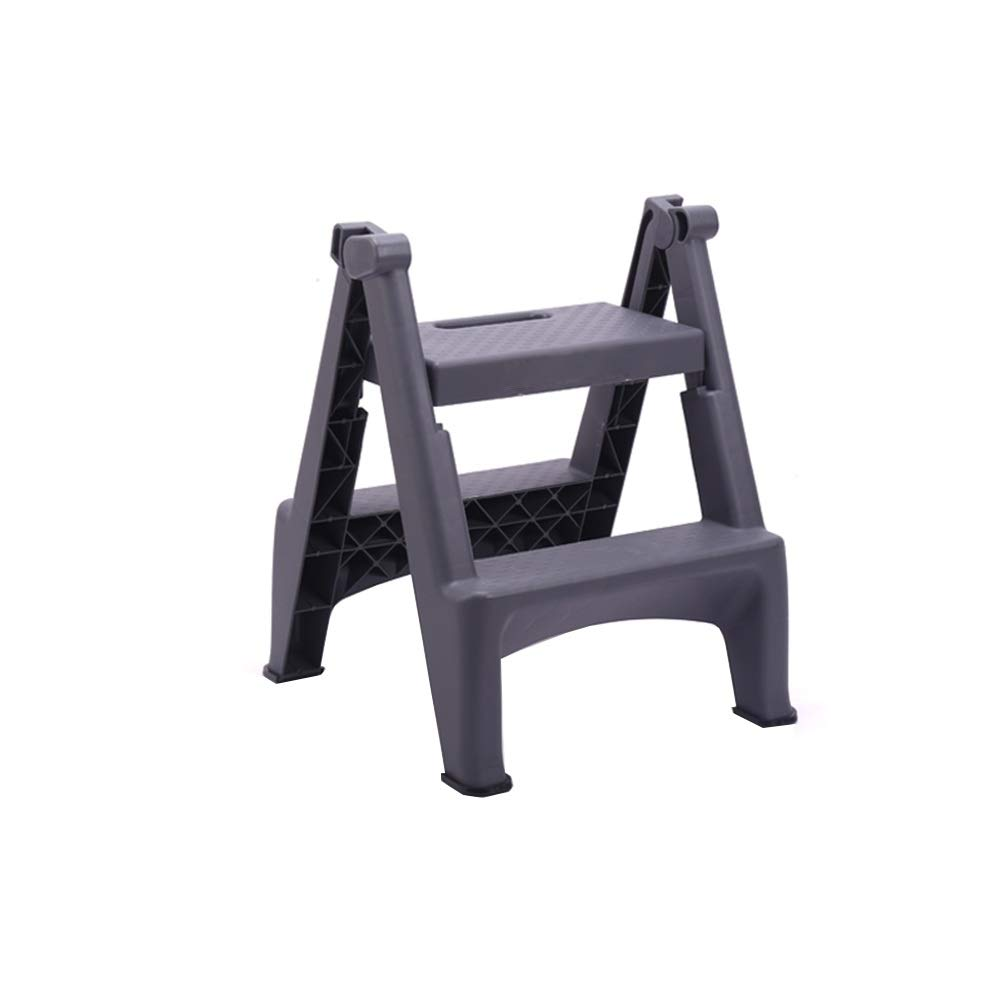 ZHAOYONGLI-Stepstools Escalera Plegable para el hogar, Taburete Plegable para Lavado de Coche, Escalera de Dos peldaños de plástico Grueso para Interiores: Amazon.es: Juguetes y juegos