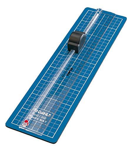 Dahle - Cizalla para papel (43,1 x 12 x 4 cm, longitud de corte 310 mm, capacidad de corte 0,3 mm), color azul