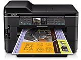 Epson WorkForce WF-7520 Wireless All-in-One Wide-Format Color Inkjet Printer, Scanner, Copier, Fax (C11CB58201)