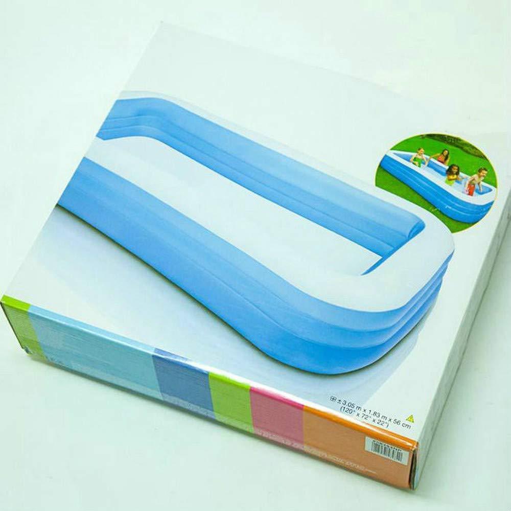 AMWFFYC - Piscina Hinchable para Familia y Adultos, práctica y ...