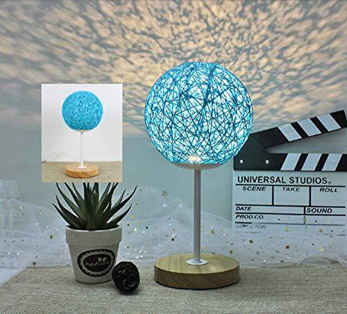 Creatieve romantische warme Nordic tafellamp slaapkamer nachtkastje nachtlampje (20CM)