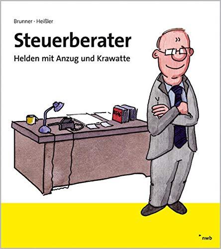 Steuerberater: Helden mit Anzug und Krawatte.