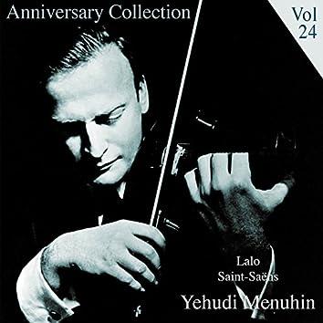 Anniversary Collection - Yehudi Menuhin, Vol. 24