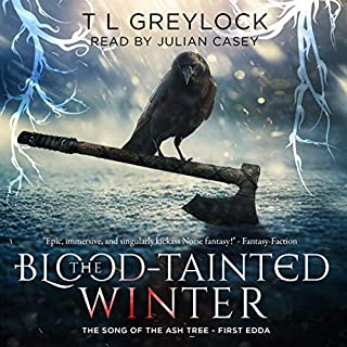 The Blood-Tainted Winter audiobook cover art