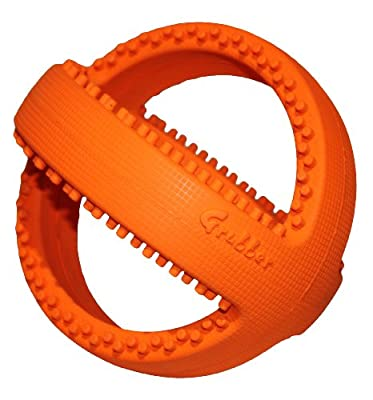 Happypet® Grubber Football, Bounce, Fetch & Tug Dog Toy