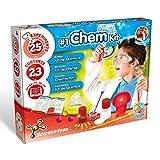 Science4you - Mi Primer Kit de Química para Niños +8Años – Set Ciencias, Laboratório de Química con 25 Experimentos y Libro Educativo en 5 Lenguas, Regalo Original Niñas +8 Años