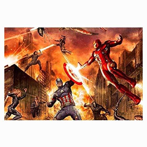 CXF The Avengers 4 Final Battle Puzzle 1000 Parte Boxed, Capitan America Infinity War Movie Stills Poster Puzzle Giocattoli (Colore : B, Taglia : 1000pc)