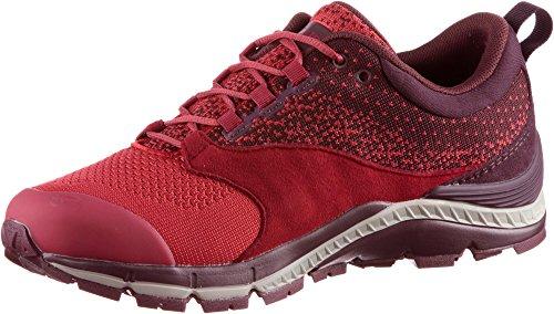 VAUDE Women's TRK Lavik STX, Chaussures de Randonnée Basses Femme, Rouge (Red Cluster), 40 EU