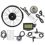 LiRongPing Eléctricos de la conversión de la Bicicleta Kit Girar Motor de la Rueda EBike 24V 250W con KT LCD3 Display 16-28 Pulgadas 700C,26inch LCD Sets