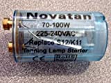 Tanning Bed StarterS12/K11 70-100W 225-240VAC