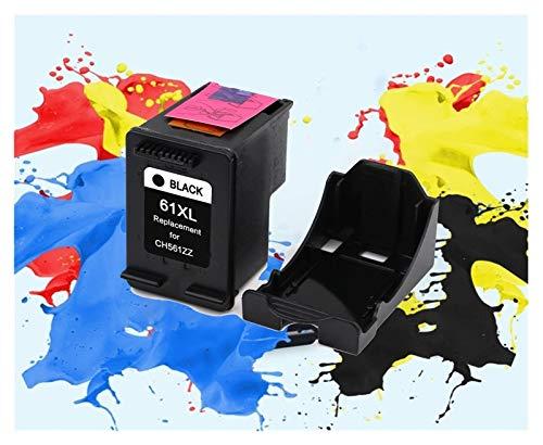WXJ 61XL Cartucho Replacemen for HP 61xl Cartuchos de Tinta for HP Deskjet 61 1050 1055 2000 1000 2050 2512 3000 5530 4500 J110a (Color : 1 Black)