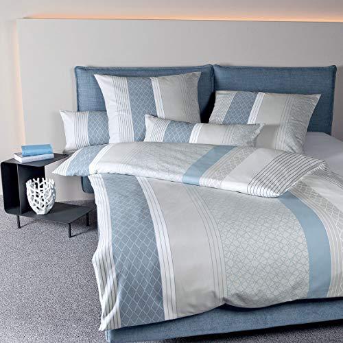 Janine Design Edelflanell Bettwäsche Chinchilla S 78019-02 Kissenbezug einzeln 80x80 cm