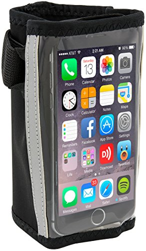 Sports Running Jogging Neoprene Forearm Smartphone Holder for iPhone 6 iPhone 5 with Case Motorola Moto X Samsung Galaxy S3