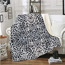 smileBaby Set superweiche Babydecke 100x75cm mit Kuscheltier Leopard