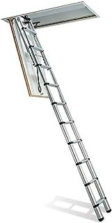 comprar comparacion Telesteps 60927-101 Escalera Maxi Telescópica Loft, Plateada