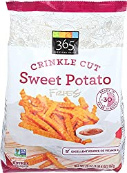 365 Everyday Value, Crinkle Cut Sweet Potato Fries, 20 oz, (Frozen)