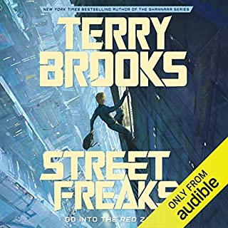 Street Freaks audiobook cover art