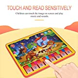 SunYueY Simulación Jungle Animal Music Tablet Sound Touch Sense Piano Education Kids Toy, Intellectual Toy Gift Set
