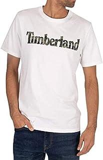Timberland pour des Hommes T-Shirt Graphique, Blanc