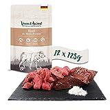Venandi Animal Premium Nassfutter für Katzen, Rind als Monoprotein, 12 x 125 g, getreidefrei und naturbelassen, 1.5 kg