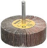 DEWALT Flap Wheel, 3-Inch x 1-Inch x 1/4-Inch HP, 120-Grit (DAFE1H1210)