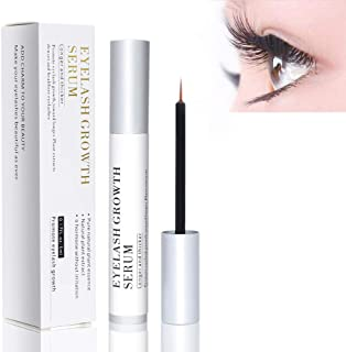 Eyelash Growth Enhancer Liquid 100% for Safe & Rapid 5ML and Eyelash Growth Serum Can Repair Damage from Eyelash Curlers Help Lashes Become Thicker and Shinny as little as 20 Days