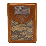 Ariat Sport Patriot Trifold Wallet Green One Size