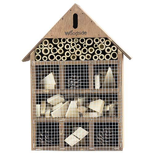 Woodside - Insekten- & Bienenhaus für den Garten - Naturholz