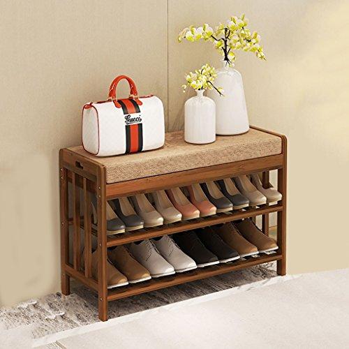 2 Capas De Bambú Natural Simple Y Cómodo De Madera Estante para Zapatos Soporte De Estante Almacenamiento, Almacenamiento, Sala De Estar del Baño (tamaño Múltiple) (Size : 70 * 30 * 50CM)