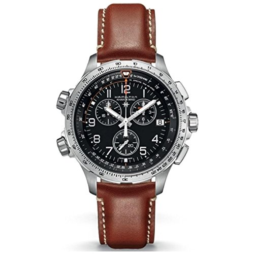 Hamilton Khaki Aviation Quartz Movement Black Dial Men's Watch H77912535