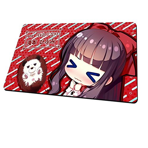 New Game Hifumi Takimoto Mat Thicker Competitive Gaming Mouse Pad 6035cm