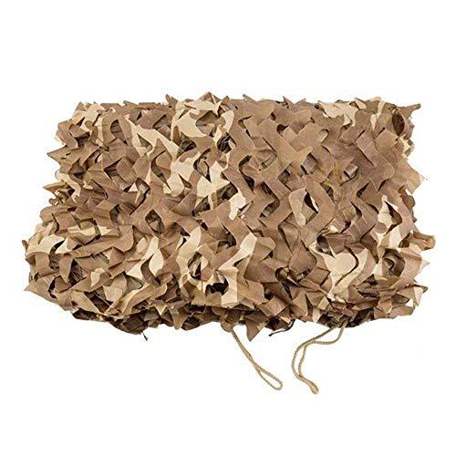 AI LI WEI Multi Purpose Sunshade Camouflage Net woestijn Camouflage Net Geschikt voor Dichtheid Verborgen Decoratie Camping Schieten Fotografie Camouflage Luifel (Maat: 6x10M) Tarpaulin 4x9m