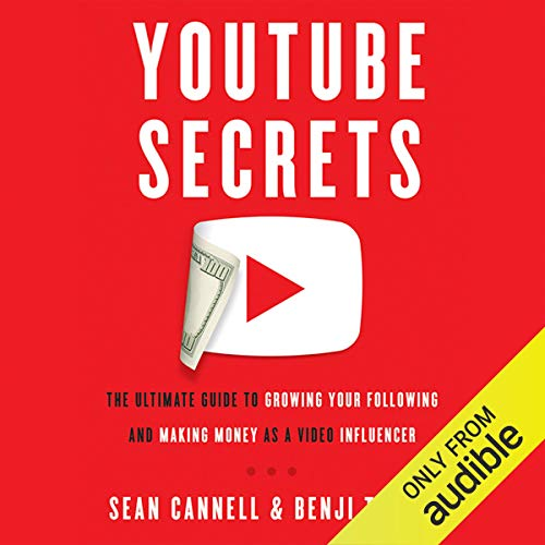 YouTube Secrets audiobook cover art