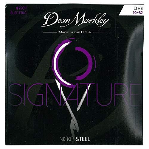 Dean Markley 2504B - Juego de cuerdas para guitarra eléctrica de acero de níquel.010-.052