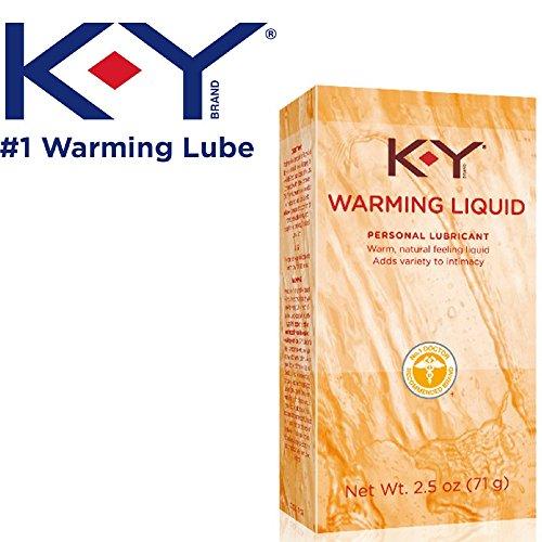 K-Y Warming Liquid Personal Lubricant, 2.5 oz