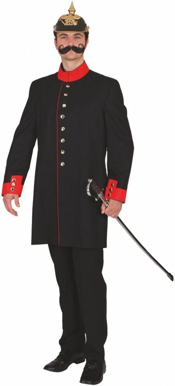 Gr. 54 Historische Uniformjacke m. Futterstoff Kostüm B0096M7Q46 Der neueste Stil  | Online