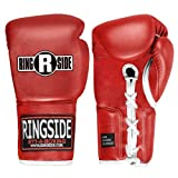 Ringside Professional Fight Gloves (Red, 8-Ounce)