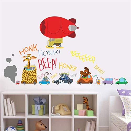 BLLXMX De Nieuwste Film Zootopia Muurstickers Cartoon Auto Vliegtuigen voor Kinderen Kamers Film Decals Nick Fox Judy Konijn Verzamelbare Geschenken