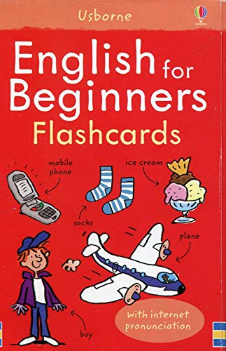 ENGLISH FOR BEGINNERS FLASHCARDS (Language for Beginners Book)
