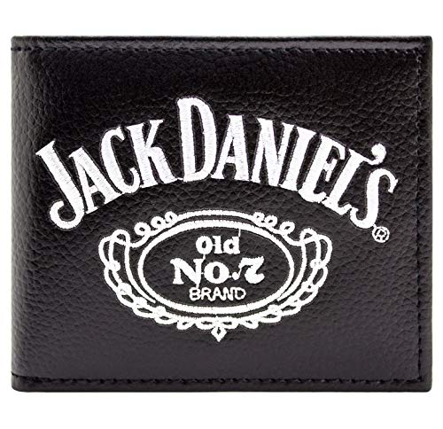 Jack Daniels Old No.7 Whiskey zwart portemonnee