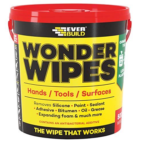 Everbuild Wonder Wipes Toallitas de limpieza multiuso, Monst