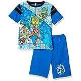[バンダイ] パジャマ スーパーマリオ勇気がでる光るパジャマDX ボーイズ 42570 ブルー 日本 110 (日本サイズ110 相当)