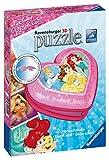 Ravensburger UK 12114 Rompecabezas con Forma de corazón de Princesa de Disney, 54 Piezas, 3D